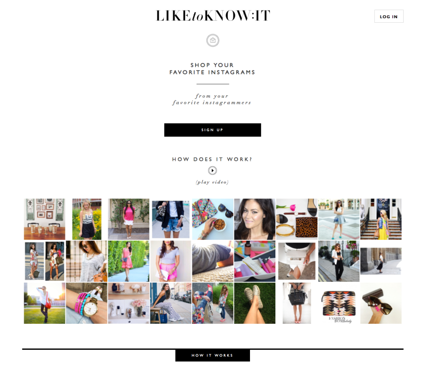 LIKEtoKNOW.it homepage